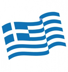 Greek flag vector