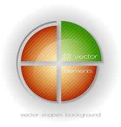 Business circle light ii vector