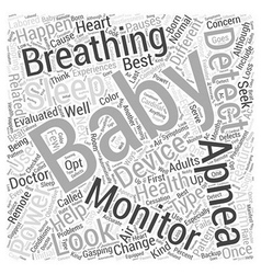 Looking for the best baby sleep apnea monitors vector