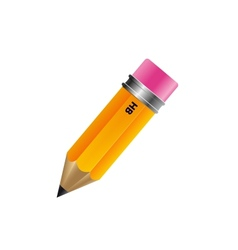 Pencil isolated on white background vector