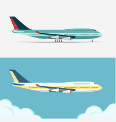 airbus civil aviation plane vector image