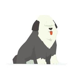 cute bobtail - modern cartoon characters vector image vector image