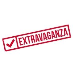 Extravaganza rubber stamp vector