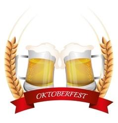 Germany cultures and oktober fest design vector