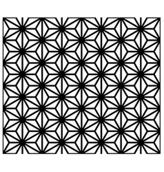 seamless traditional japanese ornament kumiko zaik vector image vector image