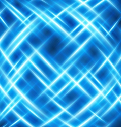 virtual space with light wire lines background vector image