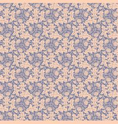 dandelion violet seamless background vector image
