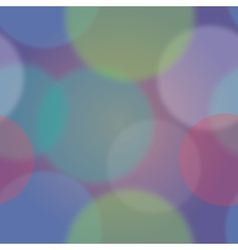 Colorful bokeh abstract background vector