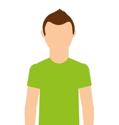 Athlete man isolated icon design vector