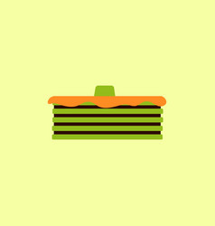 Breakfast food menu item tasty fluffy homestyle vector