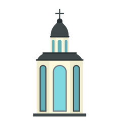 Church icon isolated vector
