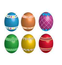 peaster egg vector image