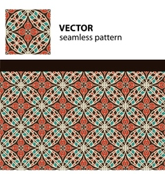 Eastern pattern vector