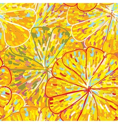 Citrus texture seamless pattern vector