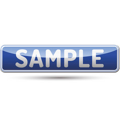 Sample button vector