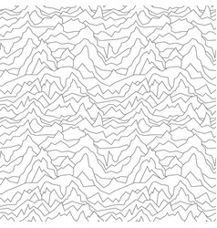 Seamless distorted pattern abstract curve vector