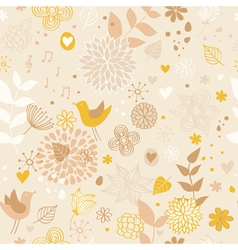 Pattern Flowers vector image