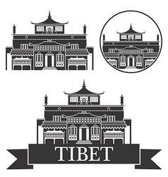 Tibet vector image