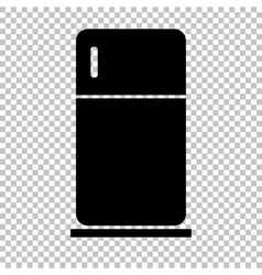 Black icon isolated on transparent vector