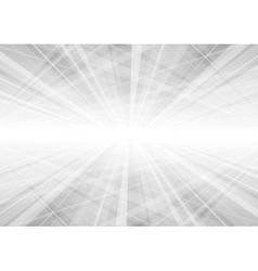 Abstract light grey technology background vector image