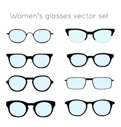 Glasses 4 vector image vector image