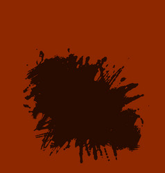 ink brush strokes rough edges dry brush painting vector image