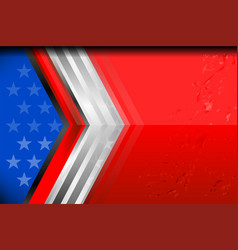 Usa flag backgrounds design vector
