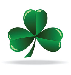 icon shamrock vector image