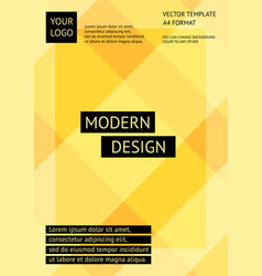 layout modern design template abstract background vector image vector image