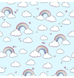 Pattern with rainbow vector