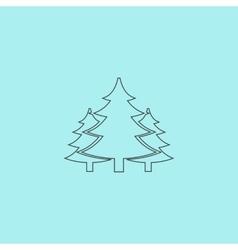 Tree christmas fir tree vector