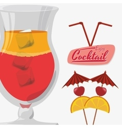 Drink icon design vector