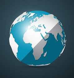 Globe - Earth vector image