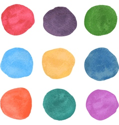 Watercolor swatches vector