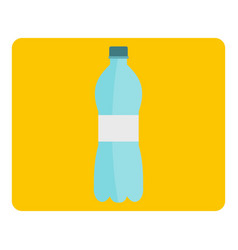 Bottle of water icon isolated vector