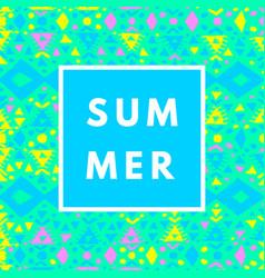 Neon summer background vector