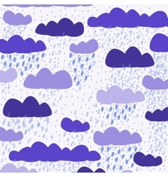 Cloud white background vector
