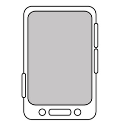 Cellphone icon design vector