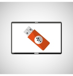 Electronic devices design vector