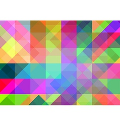 Abstract geometric background with colorful tiles vector image vector image
