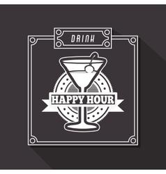 Beverage menu design vector