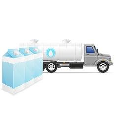 cargo truck concept 07 vector image vector image