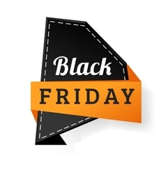 Sale badge sticker percent discount black friday vector