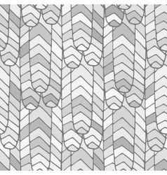 Seamless abstract pattern grey vector image vector image
