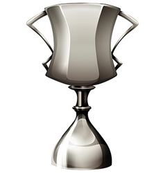 Trophy made of silver vector