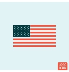 Unated states flag vector image vector image