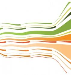 bent lines background vector image