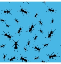 Ant insect seamless pattern 669 vector