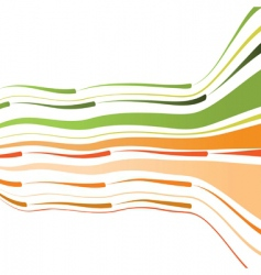 bent lines background vector image vector image