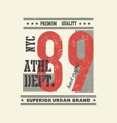 Vintage typography vector